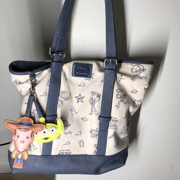 71c23f5ecc Disney Bags | Toy Story Loungefly Tote Bag | Poshmark